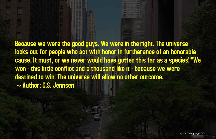 Exploration Of Space Quotes By G.S. Jennsen