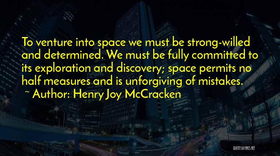 Exploration Of Space Quotes By Henry Joy McCracken
