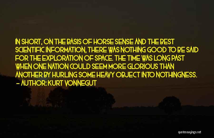 Exploration Of Space Quotes By Kurt Vonnegut