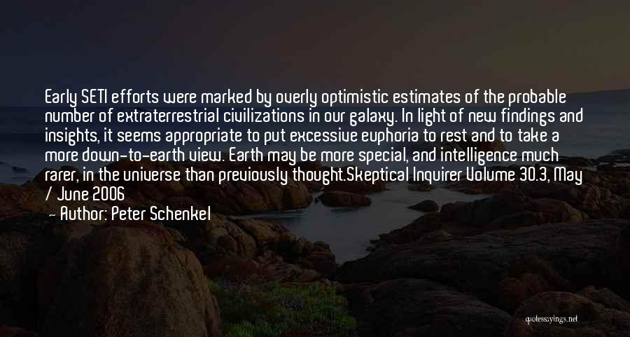 Exploration Of Space Quotes By Peter Schenkel