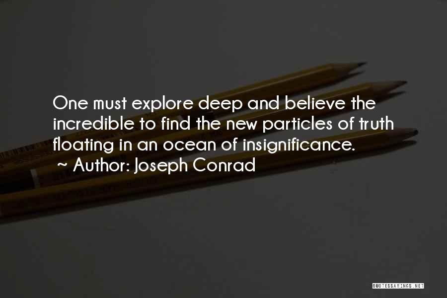 Explore Ocean Quotes By Joseph Conrad