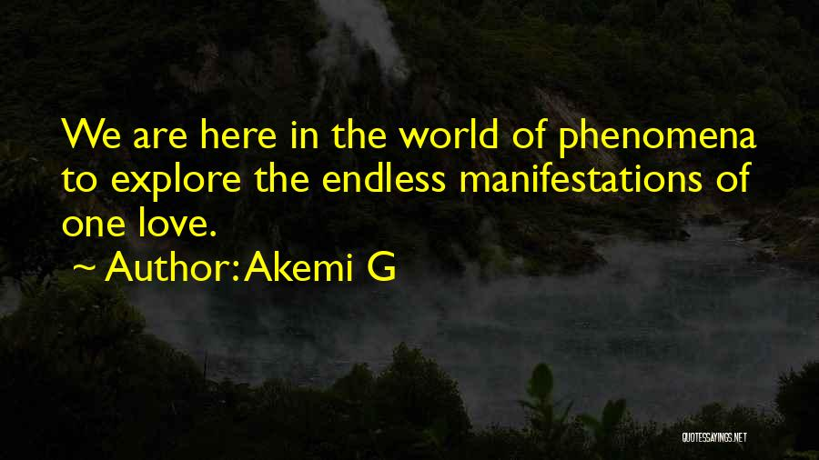 Explore The World Quotes By Akemi G