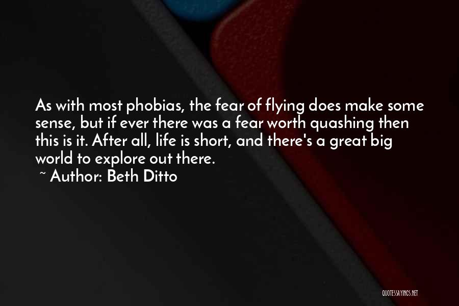 Explore The World Quotes By Beth Ditto
