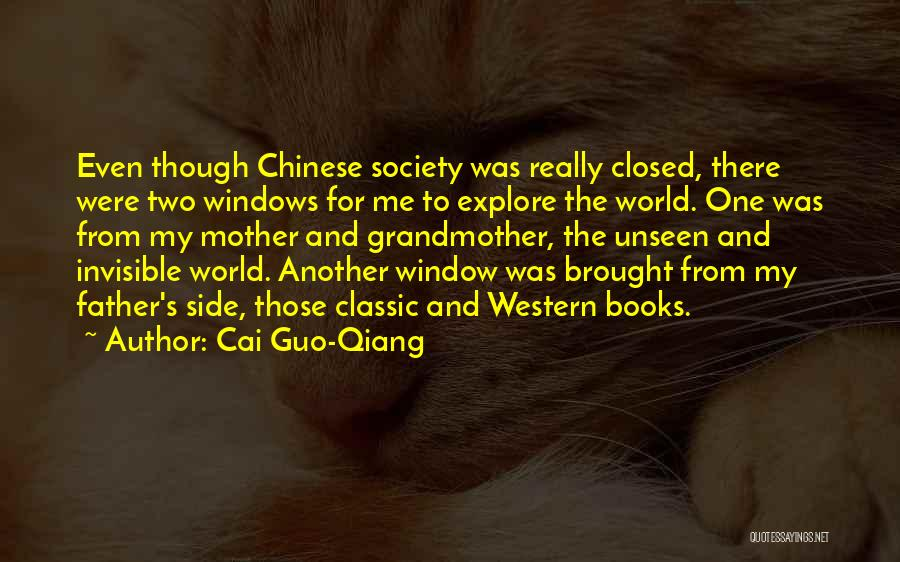 Explore The World Quotes By Cai Guo-Qiang