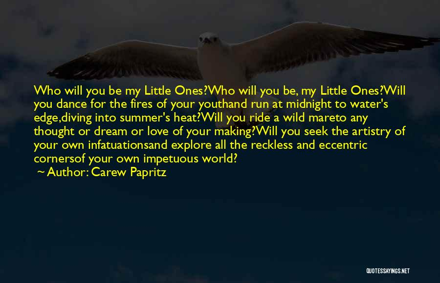 Explore The World Quotes By Carew Papritz