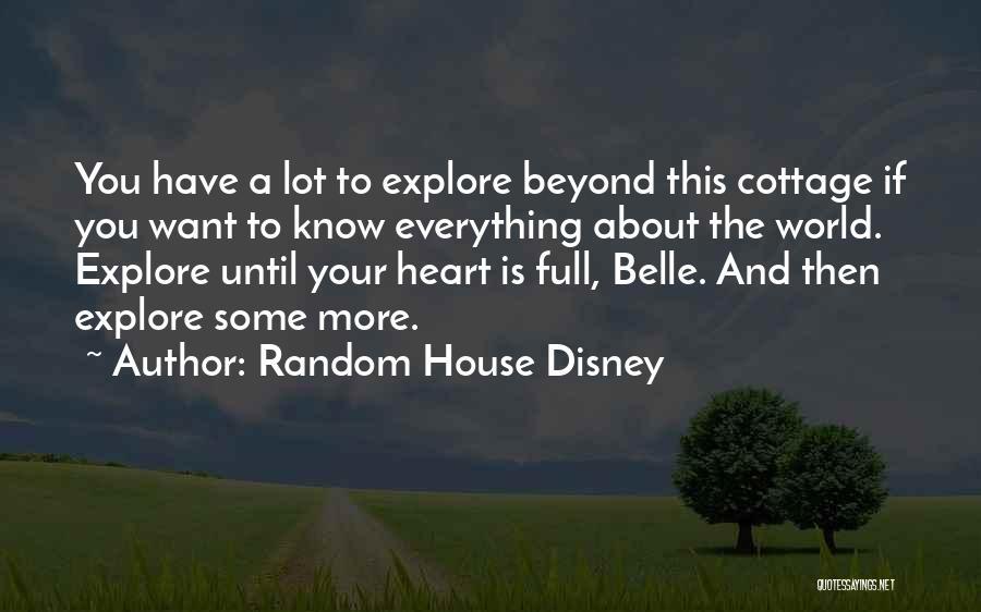 Explore The World Quotes By Random House Disney
