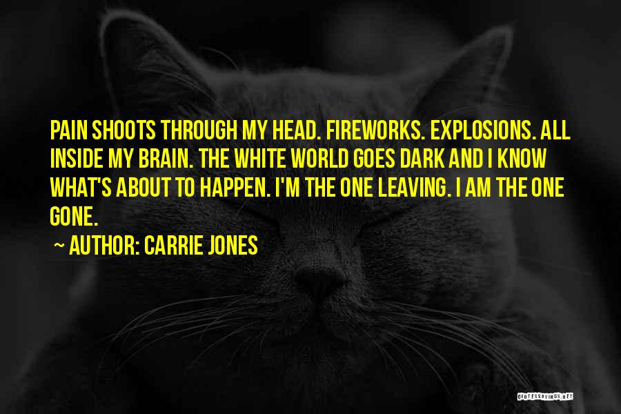Explosions Quotes By Carrie Jones