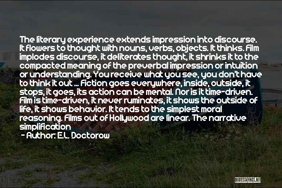Explosions Quotes By E.L. Doctorow