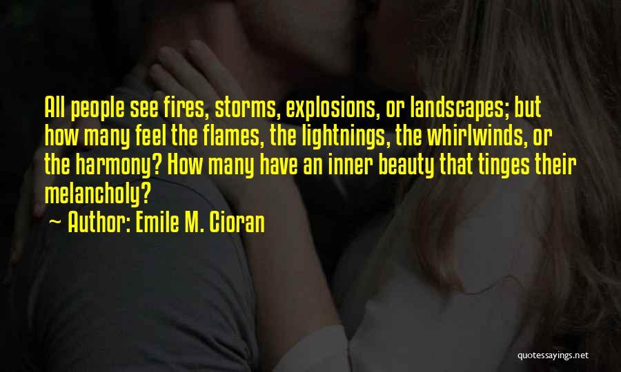 Explosions Quotes By Emile M. Cioran