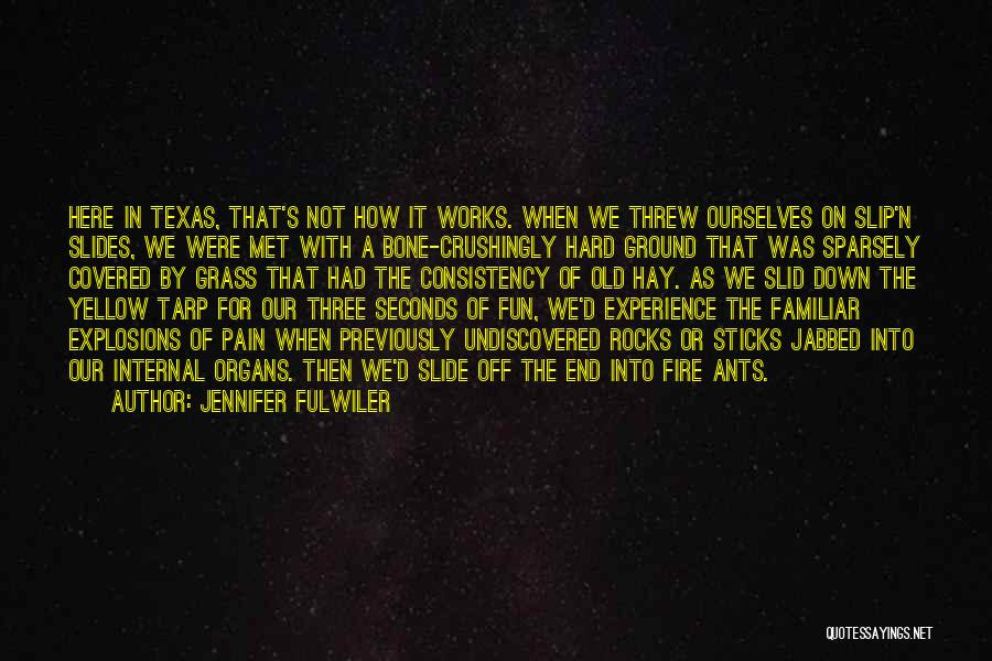 Explosions Quotes By Jennifer Fulwiler
