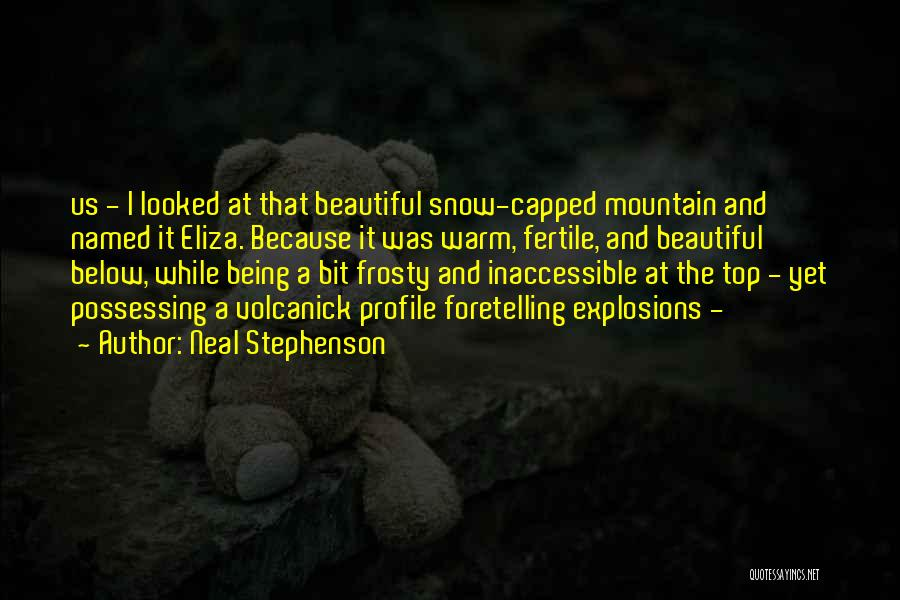 Explosions Quotes By Neal Stephenson
