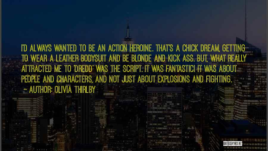 Explosions Quotes By Olivia Thirlby