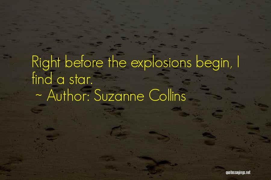 Explosions Quotes By Suzanne Collins