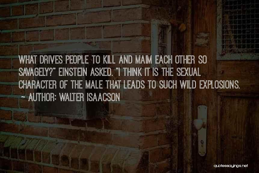 Explosions Quotes By Walter Isaacson