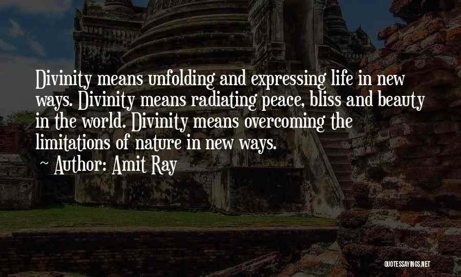 Expressing Beauty Quotes By Amit Ray