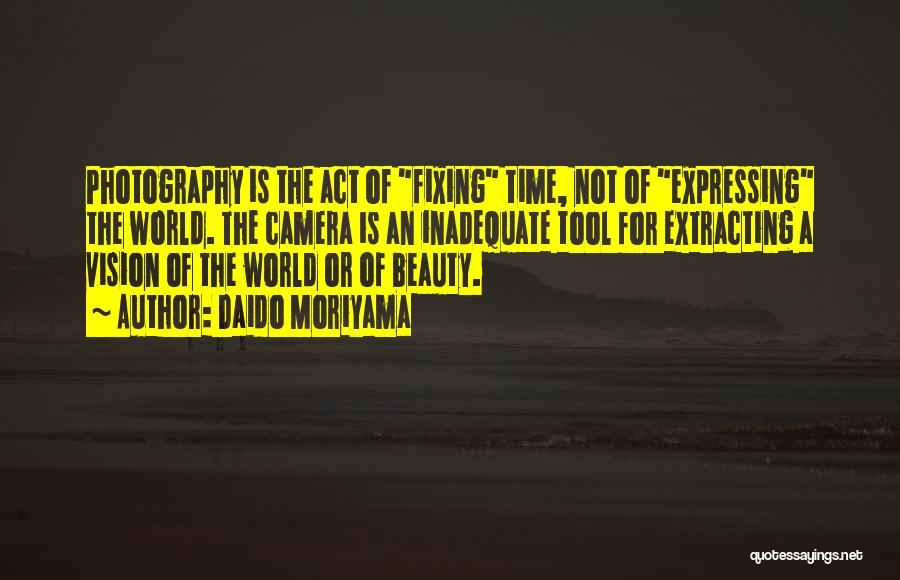 Expressing Beauty Quotes By Daido Moriyama