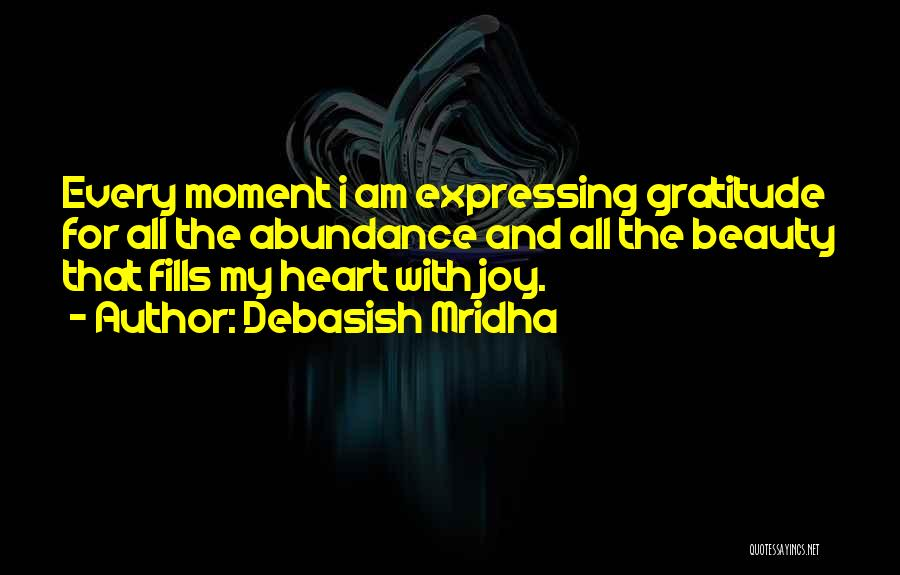 Expressing Beauty Quotes By Debasish Mridha