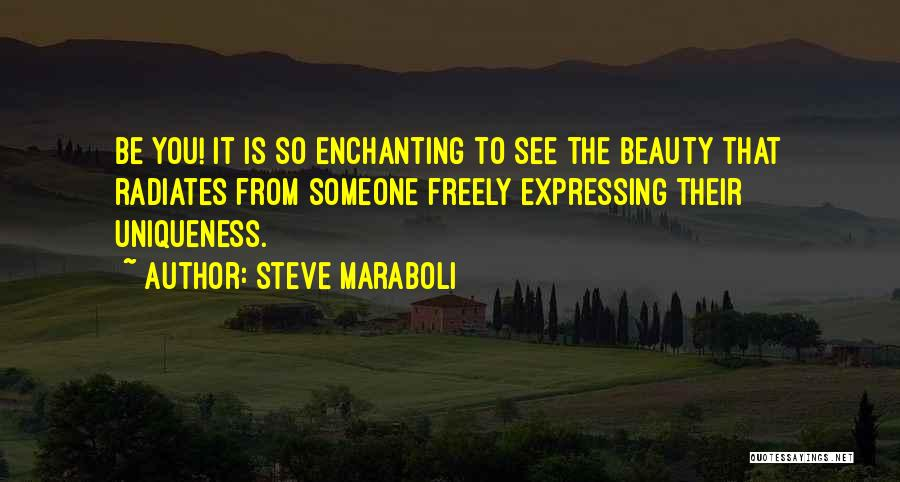 Expressing Beauty Quotes By Steve Maraboli