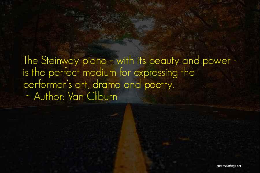 Expressing Beauty Quotes By Van Cliburn