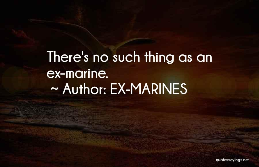 Ex's Quotes By EX-MARINES