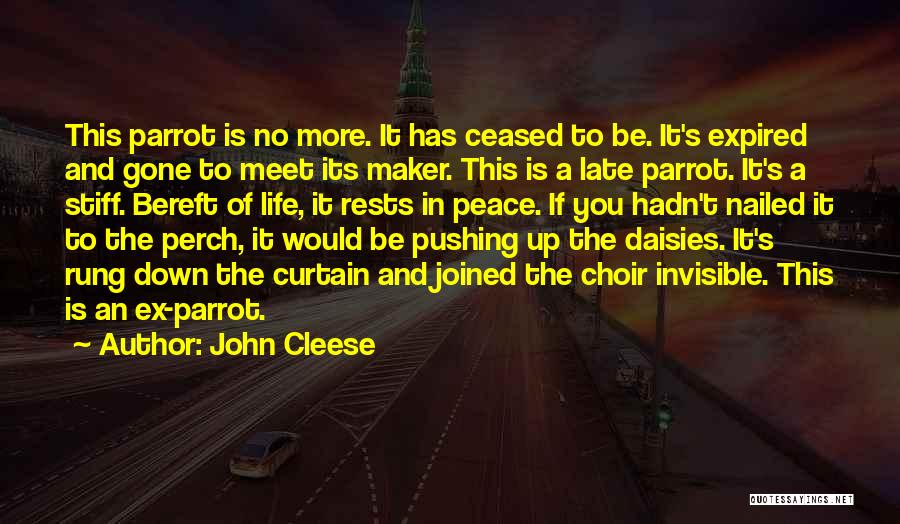 Ex's Quotes By John Cleese