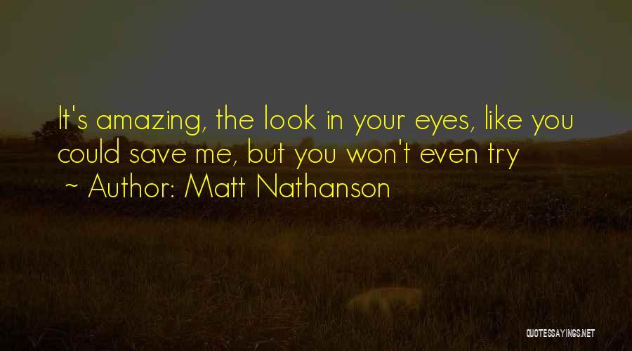 Ex's Quotes By Matt Nathanson
