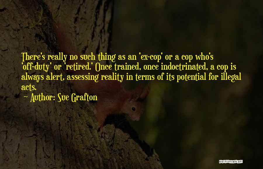 Ex's Quotes By Sue Grafton