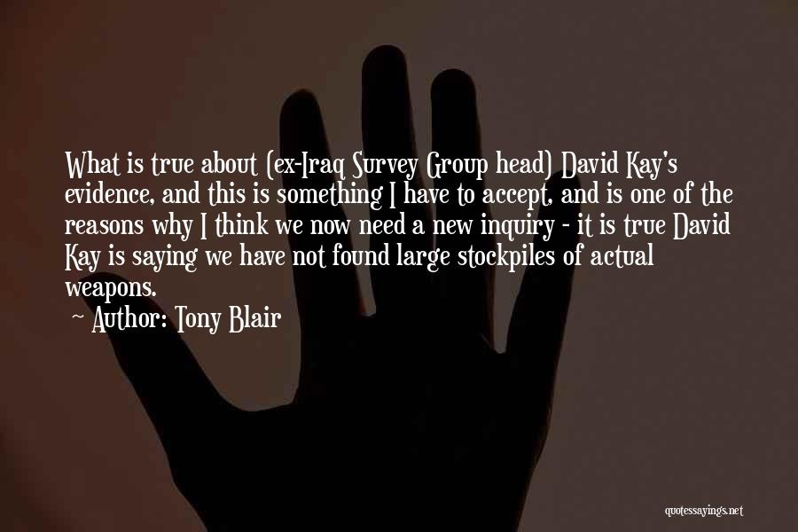 Ex's Quotes By Tony Blair