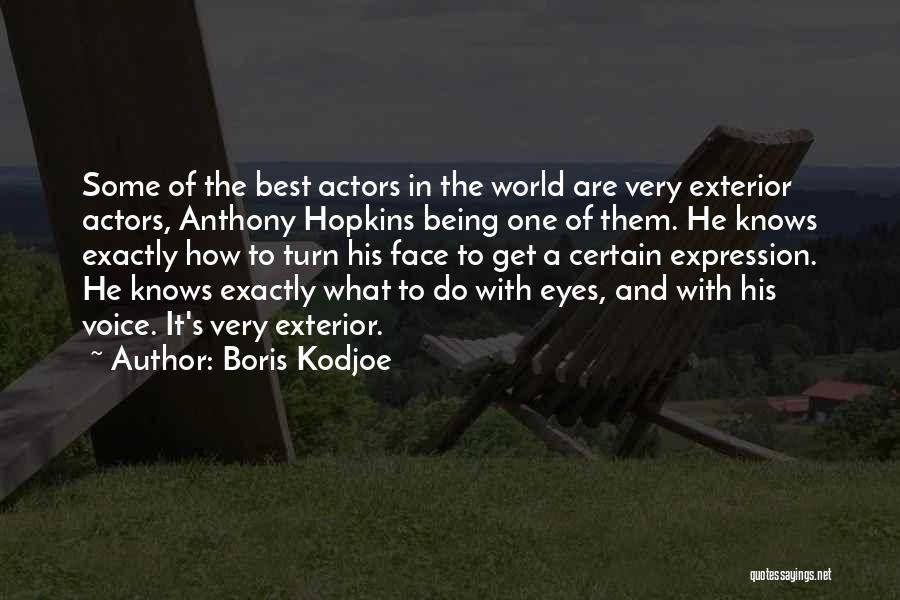 Exterior Quotes By Boris Kodjoe