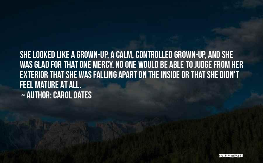 Exterior Quotes By Carol Oates