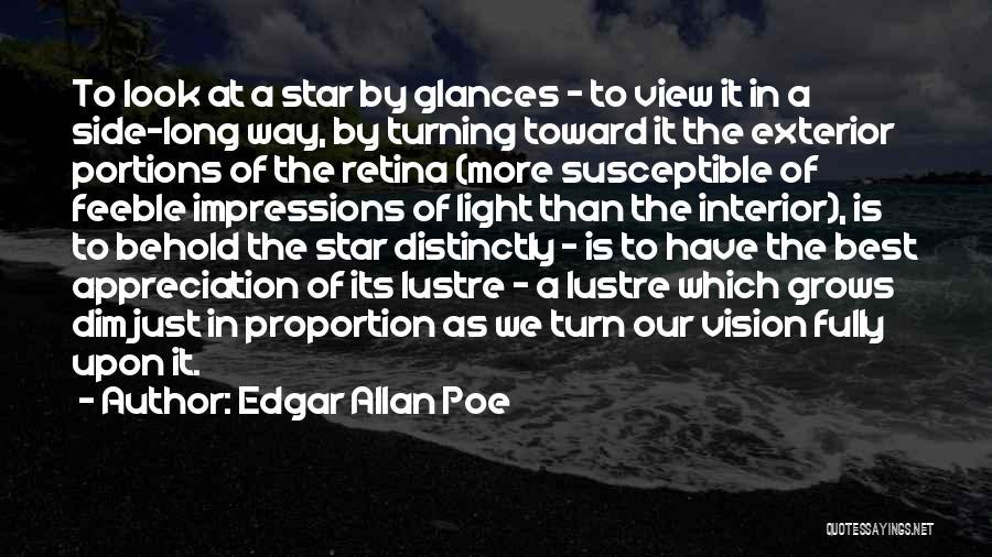 Exterior Quotes By Edgar Allan Poe