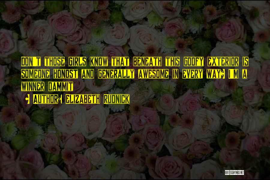 Exterior Quotes By Elizabeth Rudnick