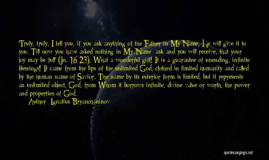Exterior Quotes By Ignatius Bryanchaninov