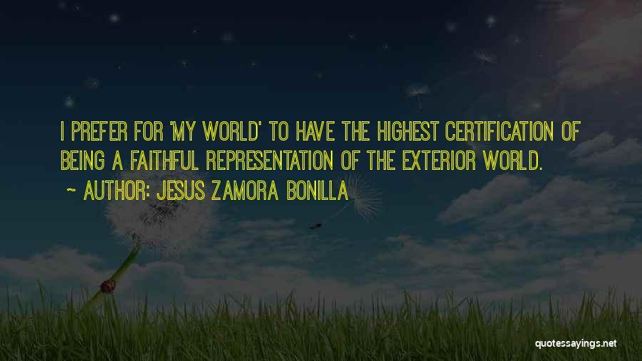 Exterior Quotes By Jesus Zamora Bonilla