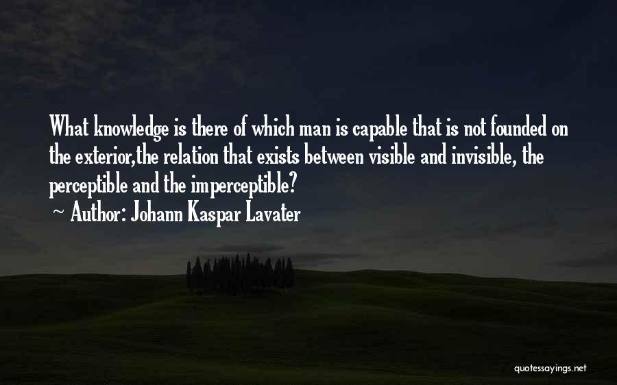 Exterior Quotes By Johann Kaspar Lavater