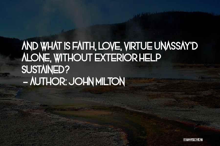 Exterior Quotes By John Milton