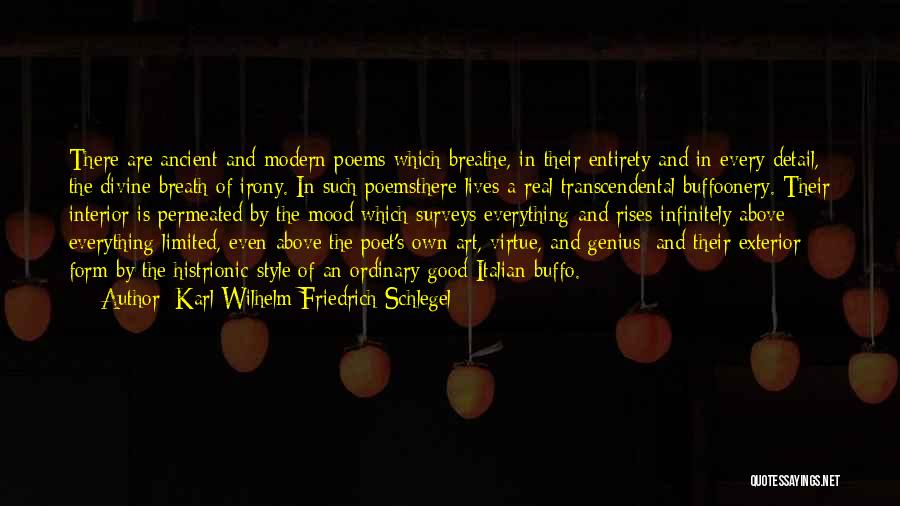 Exterior Quotes By Karl Wilhelm Friedrich Schlegel