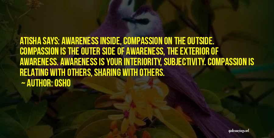 Exterior Quotes By Osho