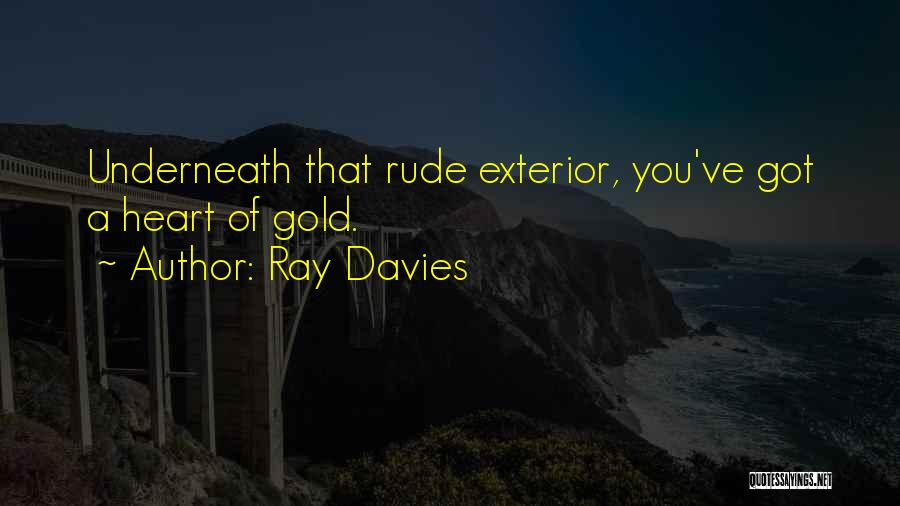 Exterior Quotes By Ray Davies