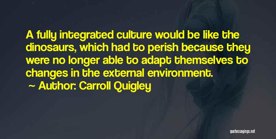 External Environment Quotes By Carroll Quigley