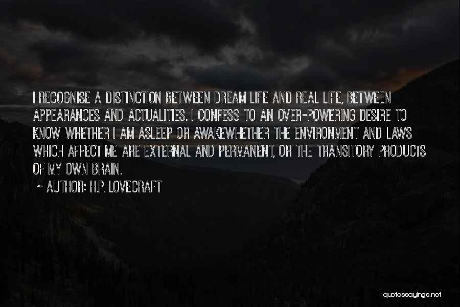 External Environment Quotes By H.P. Lovecraft