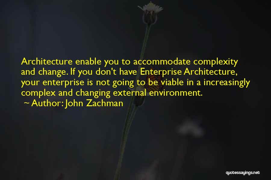 External Environment Quotes By John Zachman