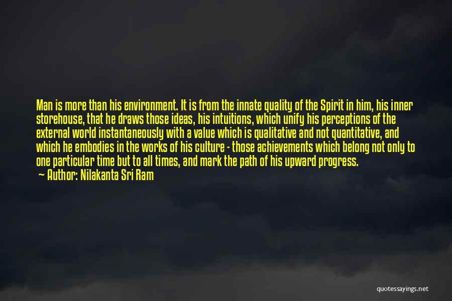 External Environment Quotes By Nilakanta Sri Ram