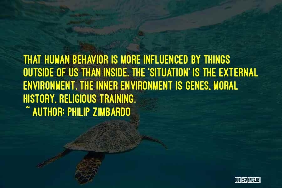 External Environment Quotes By Philip Zimbardo