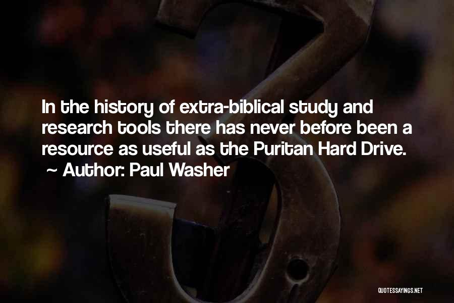 Extra Biblical Quotes By Paul Washer