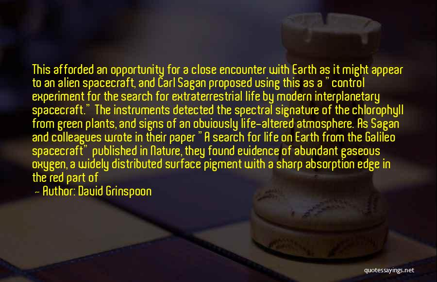 Extraterrestrial Quotes By David Grinspoon