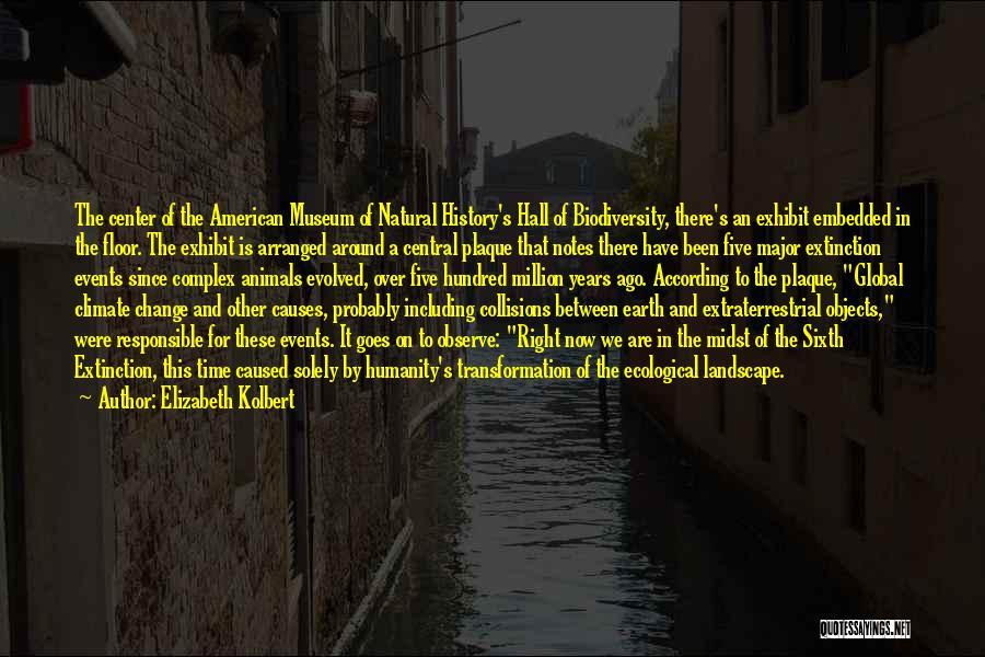 Extraterrestrial Quotes By Elizabeth Kolbert
