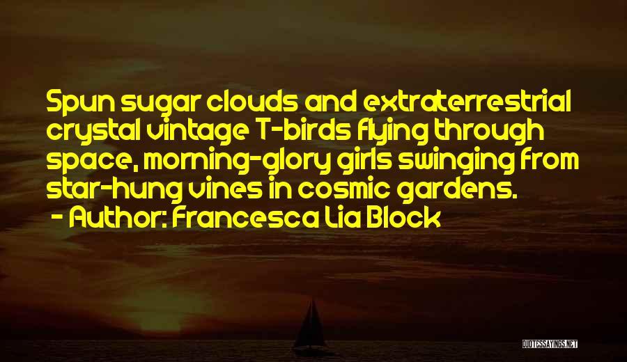 Extraterrestrial Quotes By Francesca Lia Block