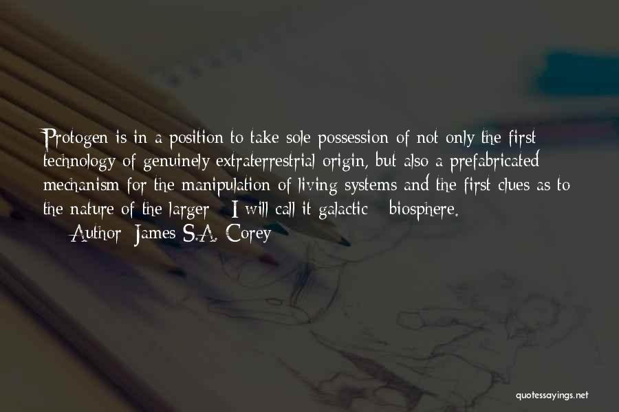 Extraterrestrial Quotes By James S.A. Corey