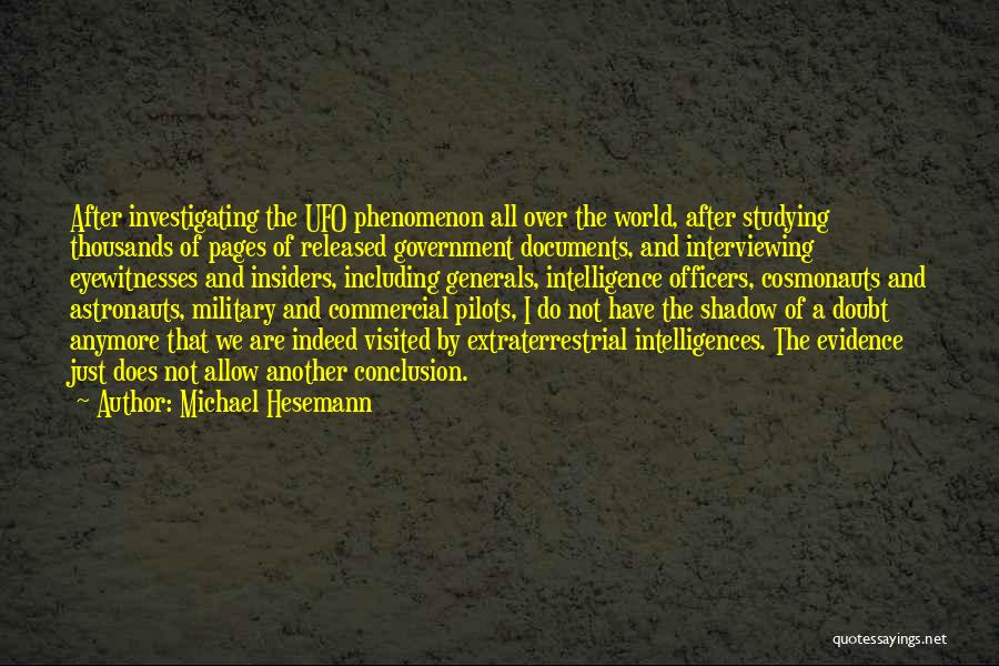 Extraterrestrial Quotes By Michael Hesemann